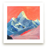 Technicolor Mt Everest by June Chang
