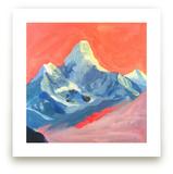 Technicolor Mt Everest by June Chang