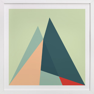 Geometric Landscape2 Art Print