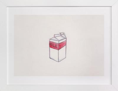 milk was a bad choice Art Print
