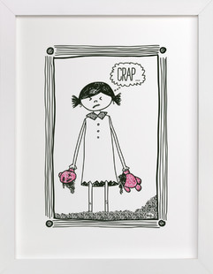 Cheer Up! Art Print