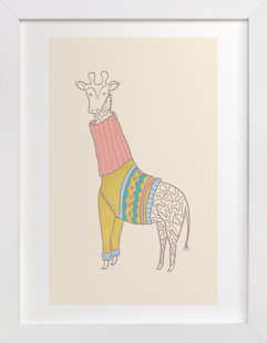 Fiesta Turtleneck Art Print