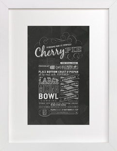 Cherry Pie Art Print