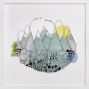 Restless Art Print