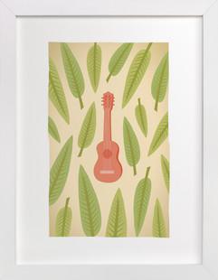 Ukulele Art Print