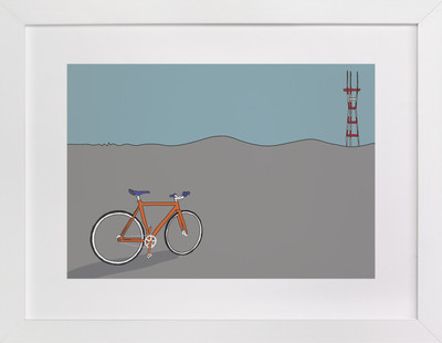 Longing for Sutro Art Print