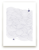 Field of Waves by Papersheep Press