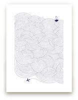 Field of Waves by Gina Vicencio