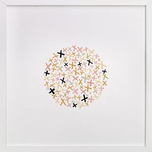 Criss Cross Art Print