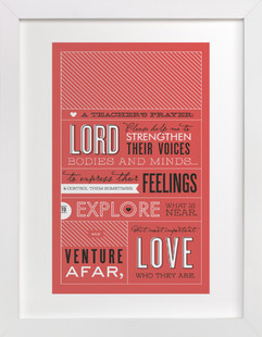 A Teacher's Prayer Art Print