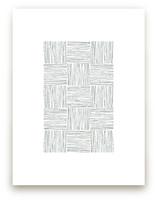 Checkered Lines by Tami Bohn