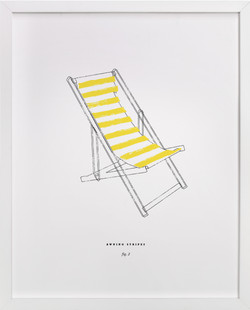 Awning Stripes 2 Art Print