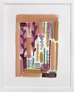 Garden Composition Art Print