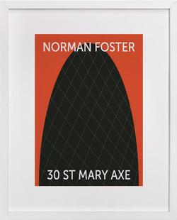30 St. Mary Axe Art Print