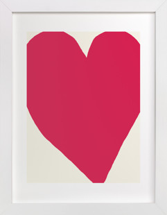 Big Heart Art Print