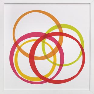 Ring Toss Art Print