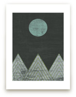 Blue Moon Over Mountain... by A Little Big Picture