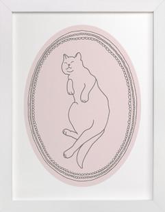 Happy Kitty Art Print