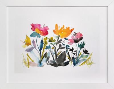 island wildflowers no.2 Art Print