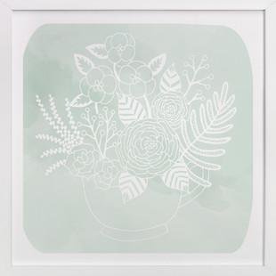 Tea Blossoms Art Print