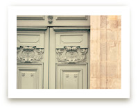 Mint Parisian Door
