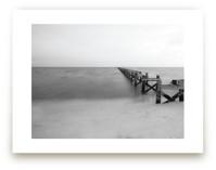 Broken Dock at Nightfal... by Mary Ann Glynn-Tusa