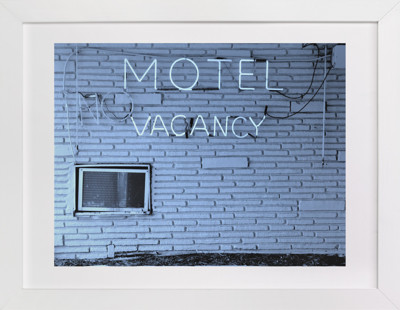 No Vacancy Art Print