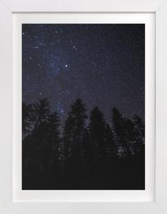 Yosemite Stars Art Print