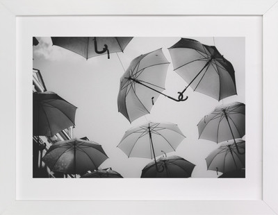 Umbrellas 2 Art Print