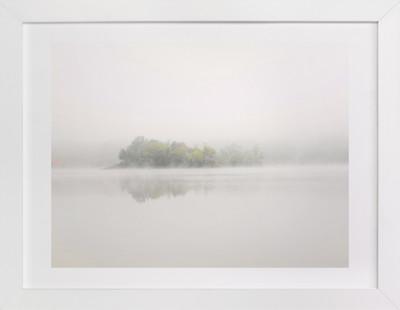 White Mist Art Print