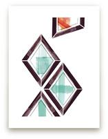 Geometry Uprising Two by Angela Marzuki