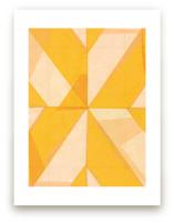 Abstract Layers 1 by Kelly Nasuta