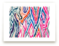 Bright Ikat by Agnes Pierscieniak