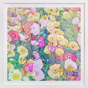 Poppy Riot Art Print