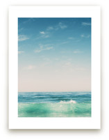Malibu Surf and Sky II Art Prints