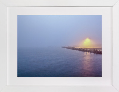 Fog on the Water Art Print
