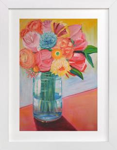 Citrus Bouquet Art Print