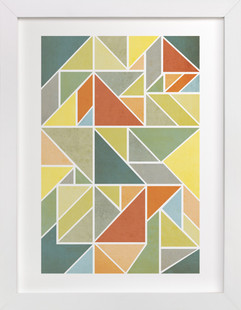 Perfect Puzzle Art Print