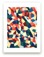 Spanish Mosaic Abstract