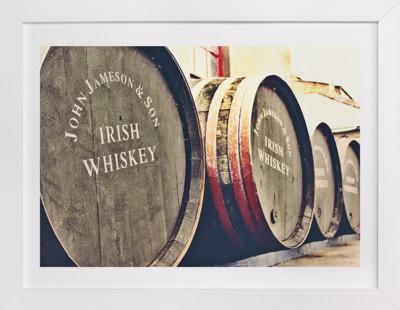 Barrels & Barrels  Art Print