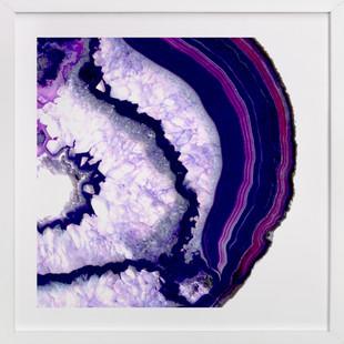 exposed geode Art Print