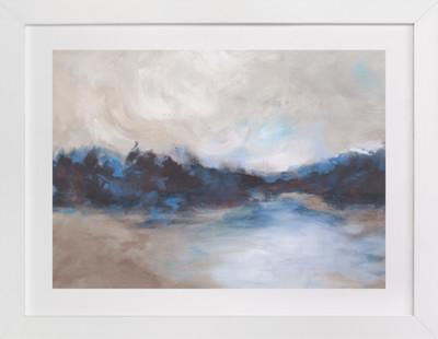 Saint Mary's Lake Art Print