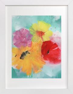 Messy Bouquet Art Print