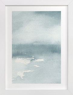 Ice on the Lake Art Print
