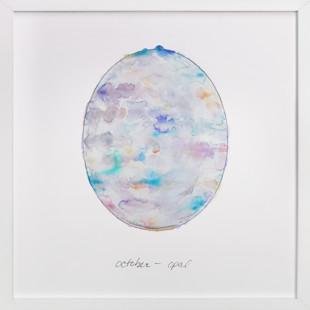 October - Opal Art Print
