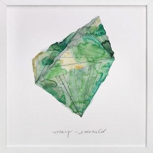 May - Emerald Art Print
