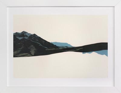 Spliced Landscape 1 Art Print