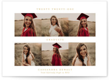 From Here To There Graduation Announcement Postcards