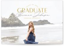 Signed Graduate Graduation Announcement Postcards