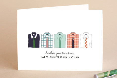 Those Stylish Men Anniversary Greeting Cards